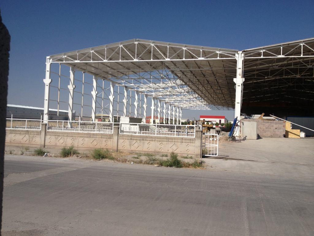 BAYDEMİR FABRİKA BİNASI , Çelik Konstrüksiyon