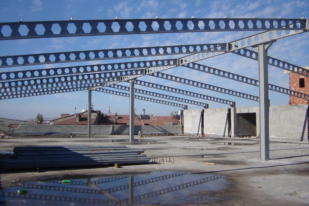 DÜZGENLER İNŞAAT BİNA ÇATI , Çelik Konstrüksiyon