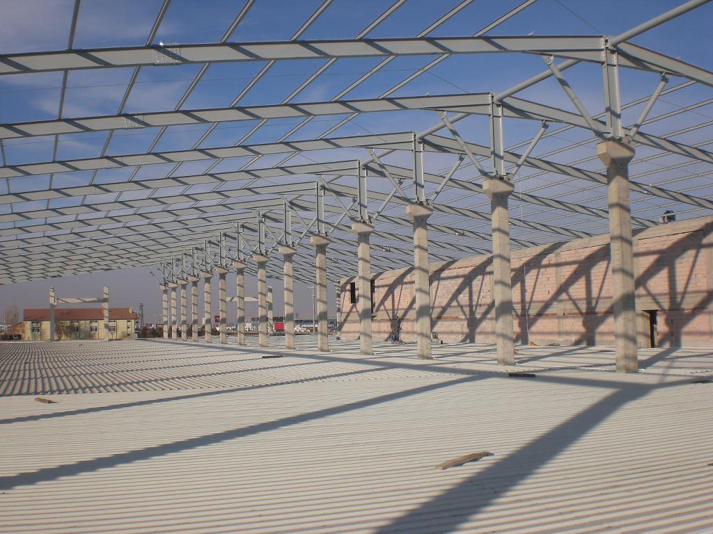 UNTAD FABRİKA BİNASI , Çelik Konstrüksiyon