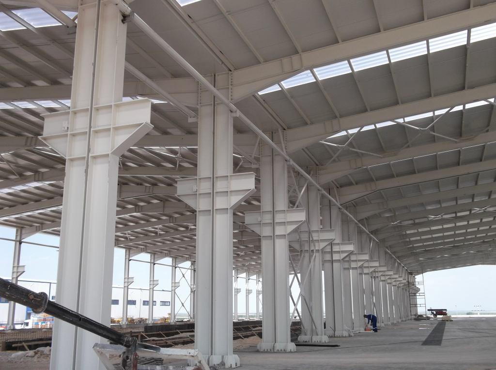 UZ-AY İNŞAAT TORKU KONYA ŞEKER KORİGE BORU FABRİKASI , Çelik Konstrüksiyon