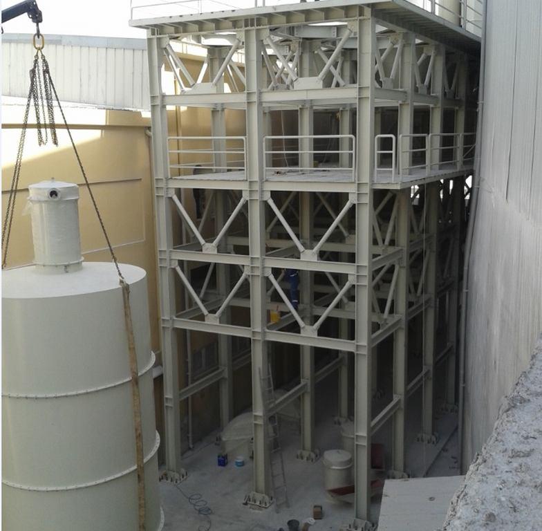 MAT-KİM HATAY MAKİNE PLATFORM , Çelik Konstrüksiyon